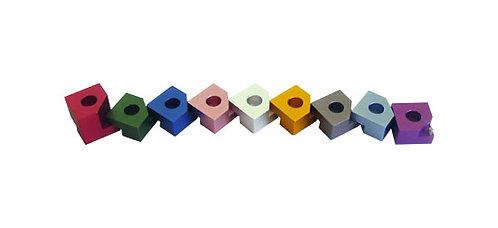 Small Puzzle Hanukiah - 44HN02