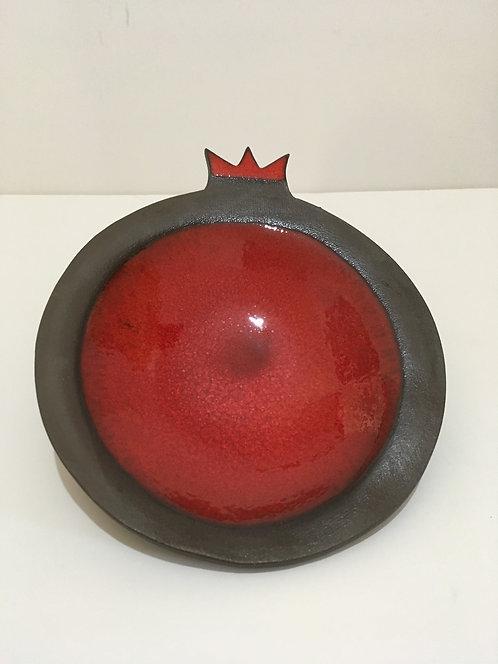 """Pomegranate shape serving dish """"8x9""""16010"""