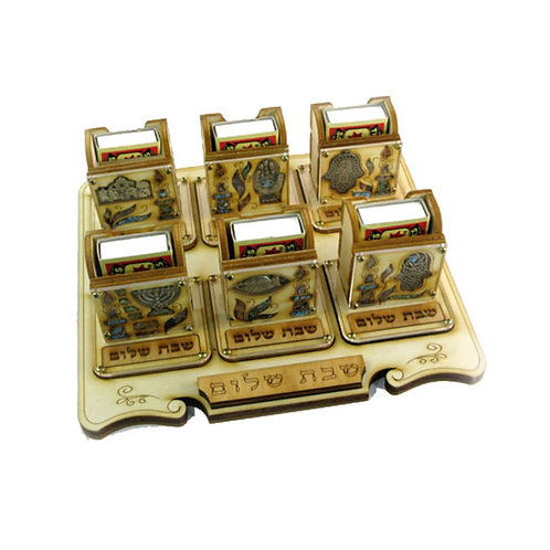 Shabbat Matches stand 12M-Set 6 pcs