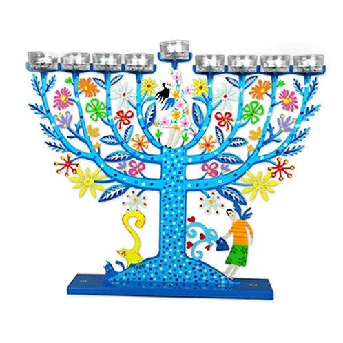 Hanukkah Menorah - 55100011-7