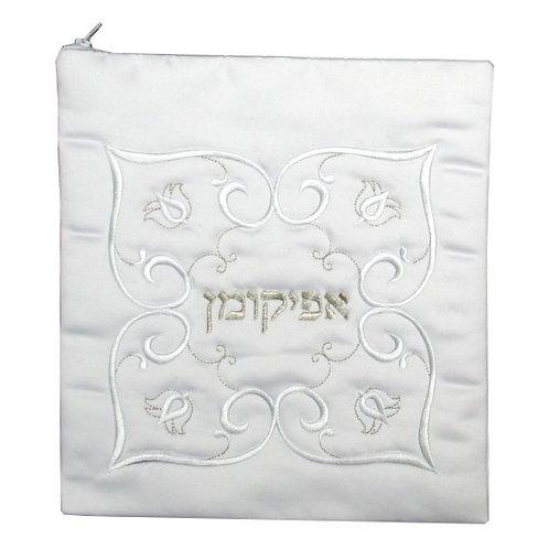 Afikoman cover - OA11-VELVET-WHITE