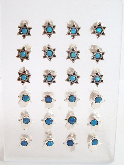 Stand of 12 Earrings - 81252