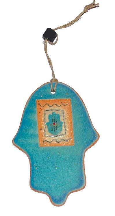 Turquoise Hamsa 1628M