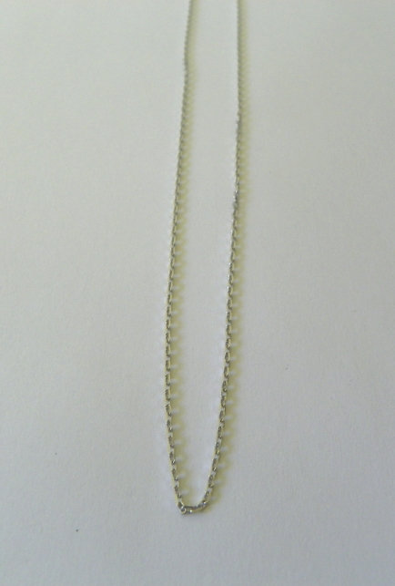"6 Sterling Silver Chains ""17"",""18"",""20"" - 8629017"