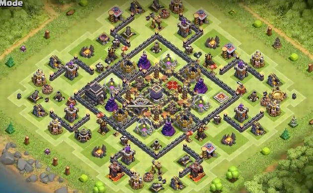 discount uk store best authentic TH9 War Base & Farming Base Layouts