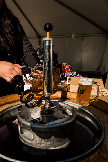 Tapping of the Keg