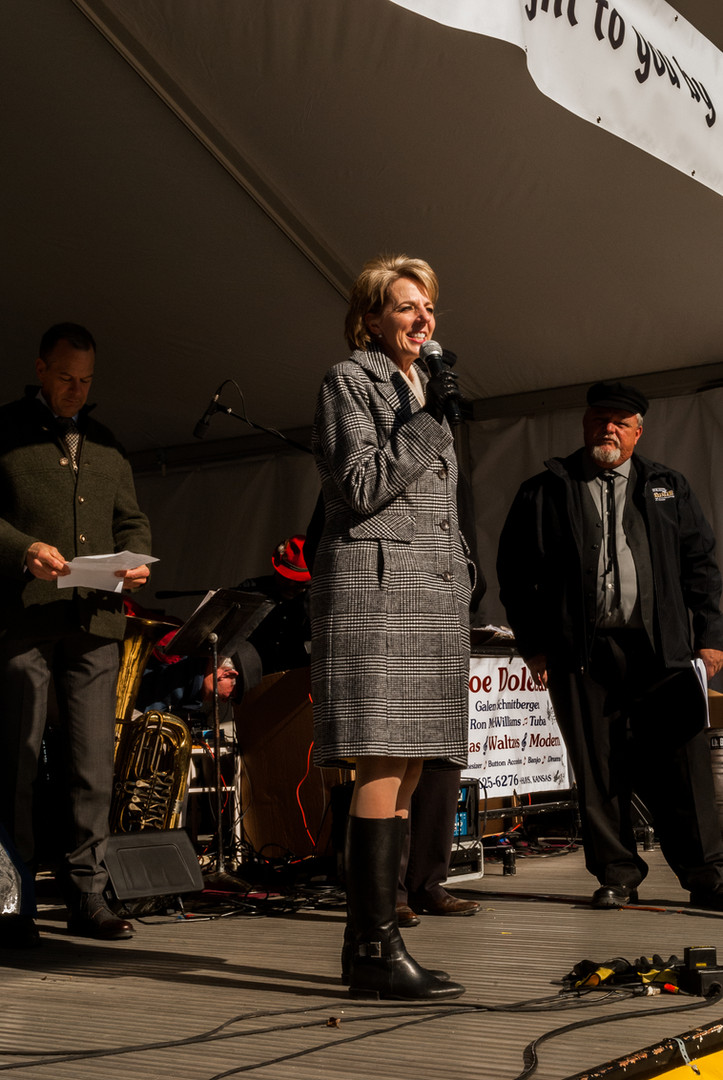 Tisa Mason, FHSU President