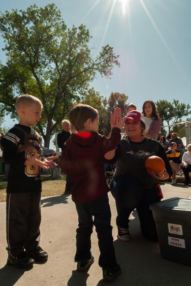 Kids games at OktoberfestHays