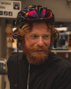 Trans Alba Riders - Ross McBrearty in In