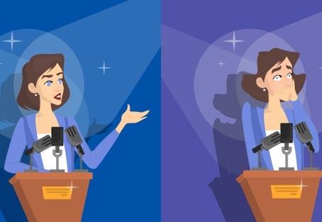 ¿Miedo a hablar en público?