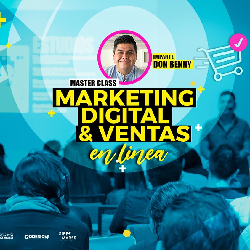 Marketing Digital & Ventas - Sábado 1 de Agosto