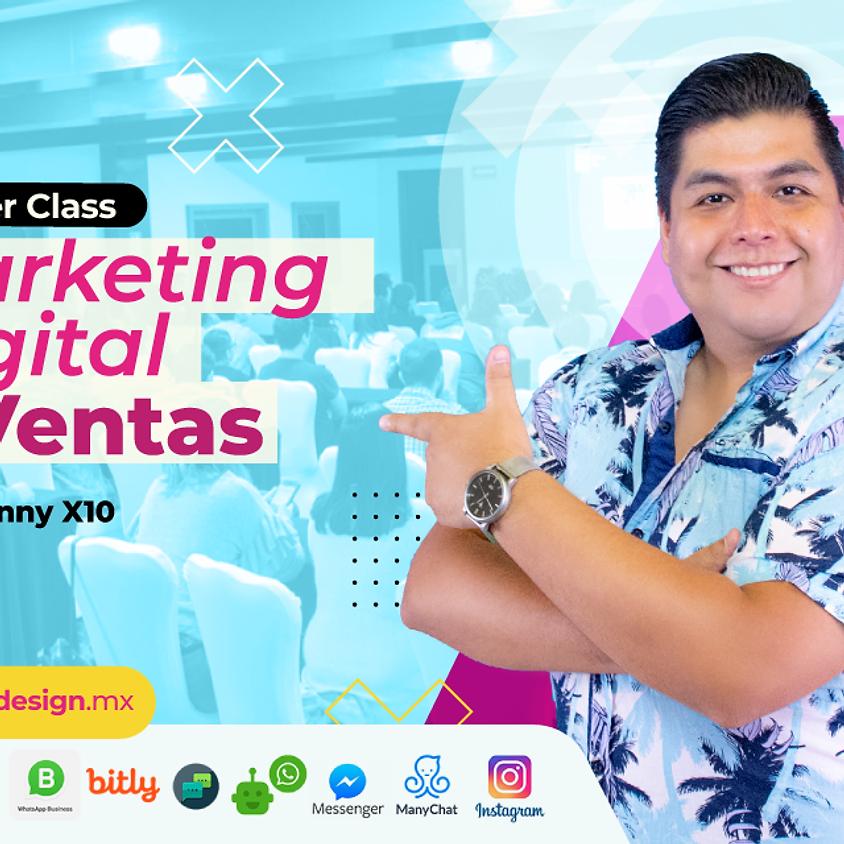 Marketing Digital & Ventas En Línea USD Marzo