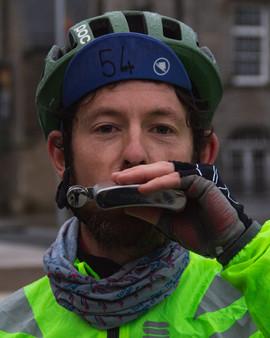 Trans Alba Race - Dan Pearce at Finish-3