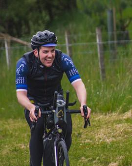 Trans Alba Race - Dario Demarco in Cairn