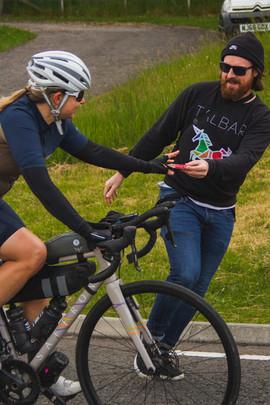 Trans Alba Race - Jane Dennyson in Cairn