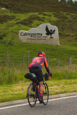 Trans Alba Race - Caven O'Hara in Cairng