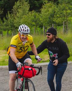 Trans Alba Race - Colin Nicol in Cairngo