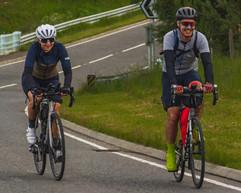 Trans Alba Race - Jane & Magnus in Cairn