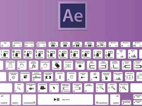 Comandos básicos de Adobe After Effects.