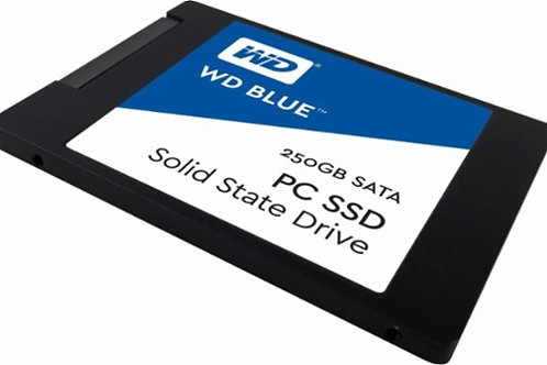 WD - Blue PC SSD 250GB Internal SATA Solid State Drive for Laptops