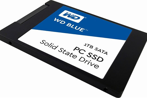 WD - Blue PC SSD 1TB Internal SATA Solid State Drive for Laptops