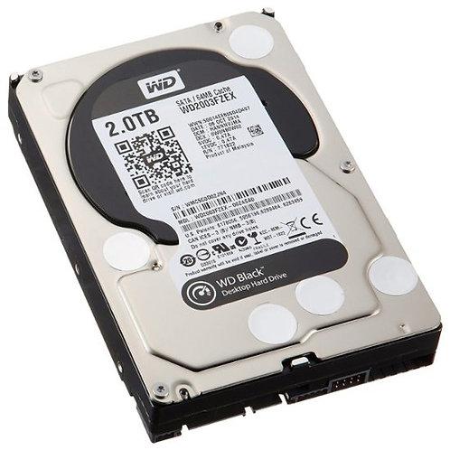WD - Black 2TB Internal Serial ATA Hard Drive (OEM/Bare Drive)