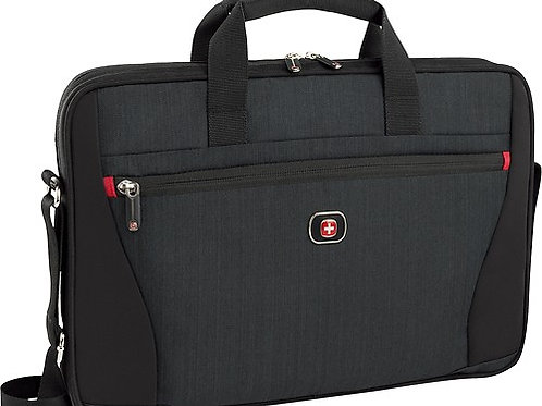 SwissGear - Structure 16 Laptop Case – Black