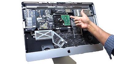 A computer receiving mac repair service in Virginia Beach