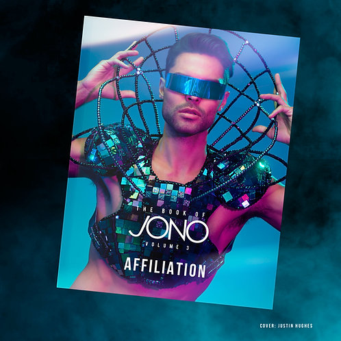 "The Book of Jono Volume 3 ""Affiliation"" Personalized Autographed"