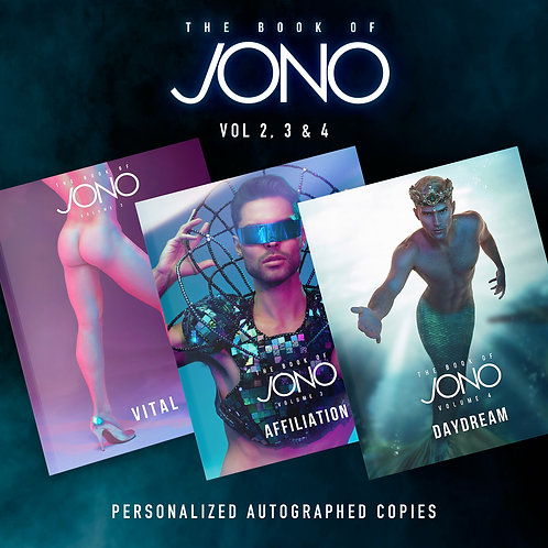 The Book of Jono Vol 2, 3, & 4 Autographed
