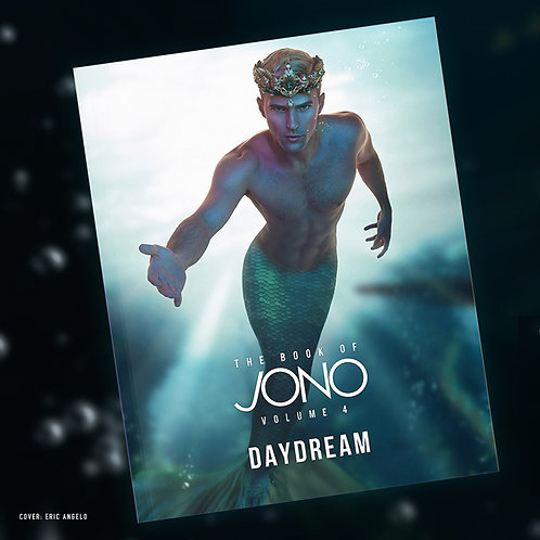 """The Book of Jono Volume 4 """"Daydream"""" Personalized Autographed"""