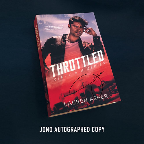 """Throttled"" by Lauren Asher. Jono Autographed Copy"
