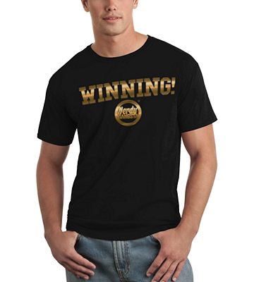 Nerdy Gangsta ™ Winning T-Shirt (Unisex)