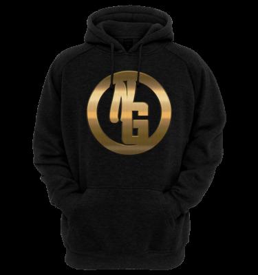 Nerdy Gangsta ™ Block Logo Hoodie (Unisex)