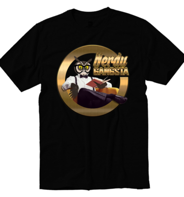 Nerdy Gangsta ™ Logo T-Shirt (Unisex)