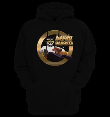 Nerdy Gangsta ™ Logo Hoodie (Unisex)