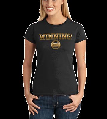 Nerdy Gangsta ™ Winning Ladies T-Shirt