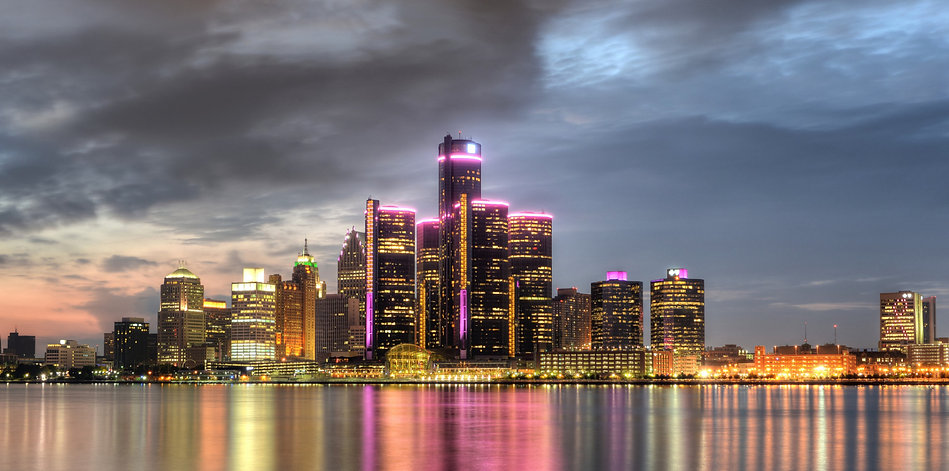 The city of where we started... Detroit, Michigan!