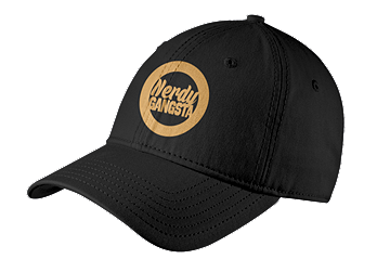 Nerdy Gangsta ™ Embroidered Cap