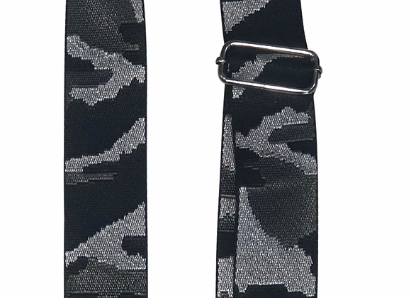 Ah-Dorned: Silver Camo Bag Strap