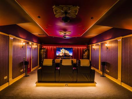 Home Cinema (Art-Deco...esk!)