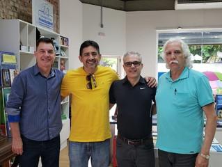 Vice-presidente doutrinário da Federação Espírita do Amapá visita a FERGS