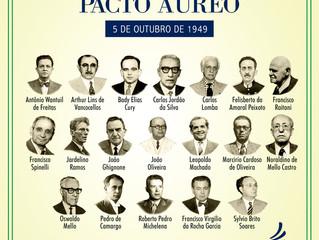 5 de outubro – Pacto Áureo