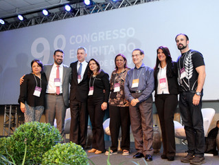 Cerimônia emocionante marca encerramento do 9º Congresso Espírita do RS