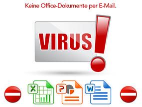 Gesperrt: E-Mail-Empfang von Office Dokumenten