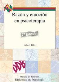 Libro de Albert Ellis sobre psicología. Razón y emoción en psicoterapia. Psicólogos online Pinto.