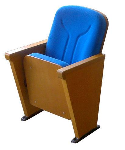 Sırt oturak kollar ahşap konferans koltuğu