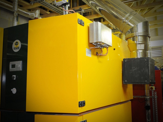 Biomass Boiler and OCR