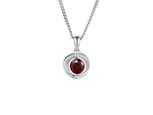 Vivid Red Necklace