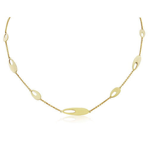 Gold Classic Necklet